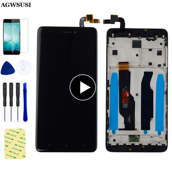 For Xiaomi redmi note 4X LCD Display Touch Screen For Redmi Note 4 Global Version LCD With Snapdragon 625 Assembly With Frame