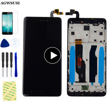 Voor Xiaomi Redmi Note 4X Lcd Touch Screen Voor Redmi Note 4 Global Versie Lcd Met Snapdragon 625 Vergadering Met Frame(China)