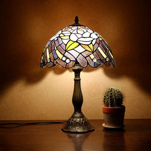 Tiffany-Lamp Pure-Production Warm And Romantic Cross-Border Individual-Mosaic European-Style