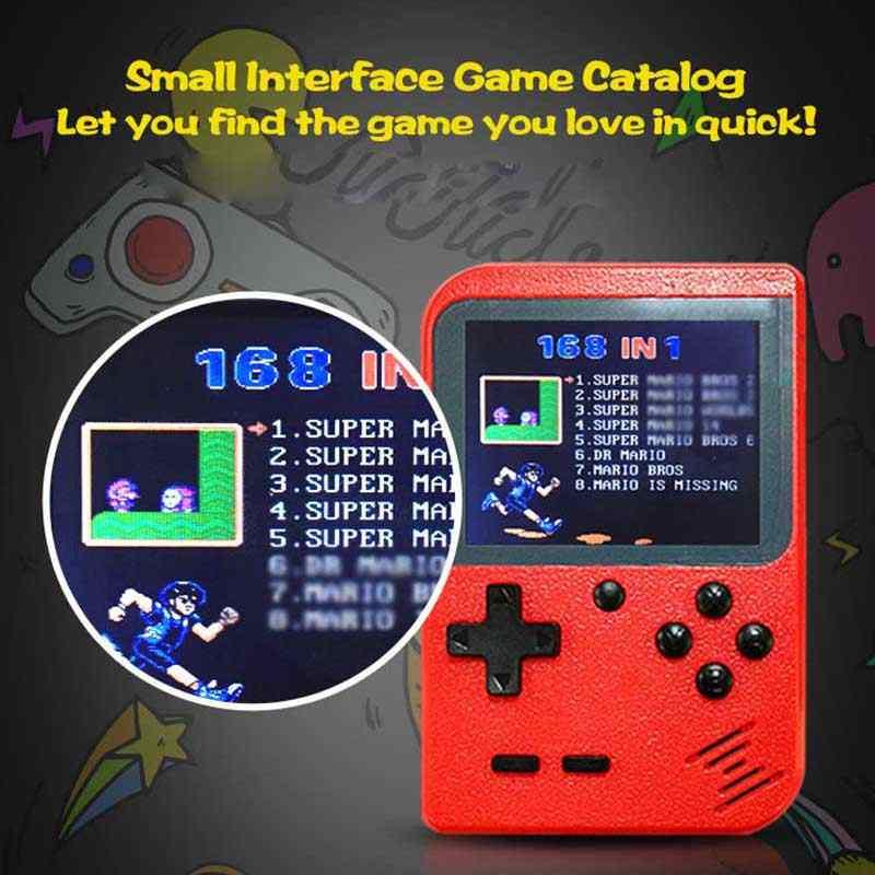 2020 taşınabilir el oyunları Retro oyun konsolu dahili 400 oyunları destek 2 oyuncu 8-Bit 3.0 inç çocuk için nostaljik