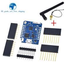 WEMOS D1 Mini Pro 16M байт внешний антенный разъем на основе NodeMCU ESP8266 CP2104 WIFI макетная плата для arduino
