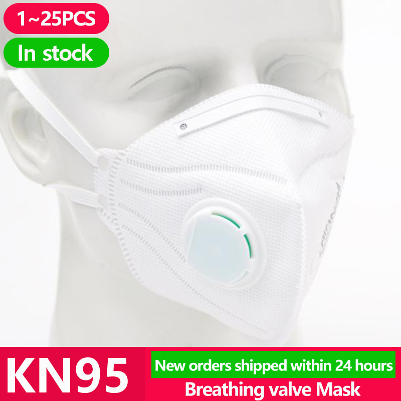 [1~25PCS] KN95 Disposable Face N95 KF94 Surgical Mask Anti Protection  Mouth Cover Facial Dust Pm2.5 FFP2 Ffp3 Respirator Masks