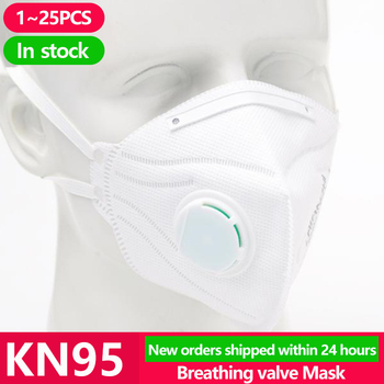 [1 ~ 25PCS] KN95 Màquina facial eliminable N95 KF94 Màscara quirúrgica Anti-protecció Boca Coberta facial Pols Pm2.5 FFP2 Ffp3 Màscares respiradores