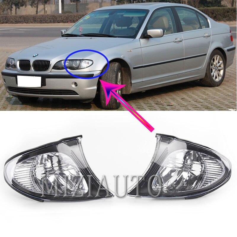 Угловой светильник поворотники для BMW e46 2002-2005 3 серия 320i 325i 330i головной светильник налобный фонарь указателя поворота светильник угловой св...