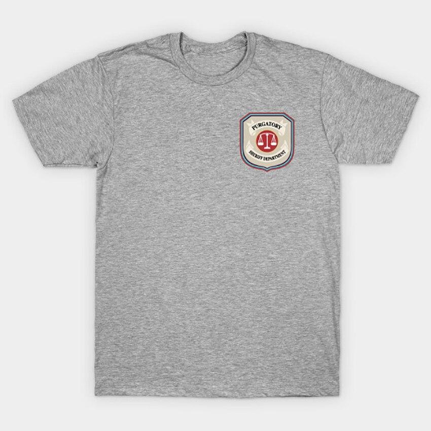 Image 3 - Purgatory Sheriff Department T Shirt Wynonna Earp T Shirt wynonna earp tv series doc holliday purgatory pride wayhaught wearpT-Shirts   -