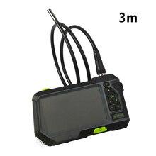 Водонепроницаемый чехол для эндоскопа с HD разрешением, для ремонта, ips-экран, светодиодный светильник, автомобильная камера 1280x720, 5 дюймов