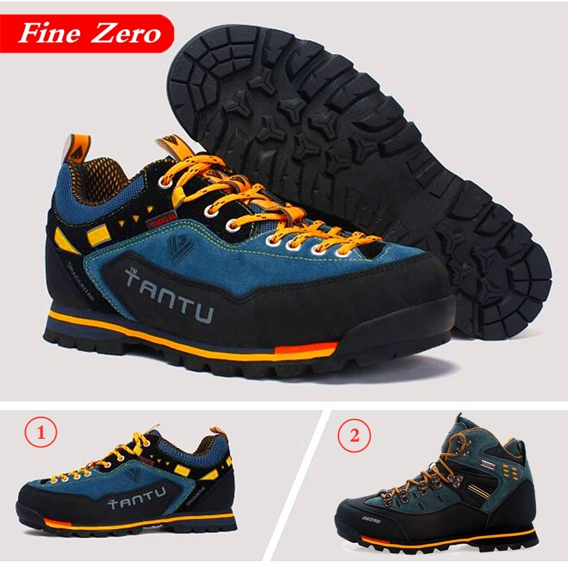 New Men Waterproof Hiking Boots Mountain Climbing Shoes Outdoor Hiking Boots Trekking Sport Sneakers Men Hunting Trekking Boots