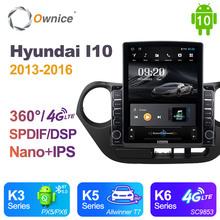 Nano pionowe Ownice Android 10 0 Radio samochodowe 2din dla Hyundai I10 2013 #8211 2016 samochód Auto Audio System wideo jednostka SPDIF 4G LTE tanie tanio CN (pochodzenie) Double Din 9 7 4*45W 128G Jpeg 1G 2G 4G 1024*768 Bluetooth Wbudowany gps Ładowarka Nadajnik fm Telefon komórkowy