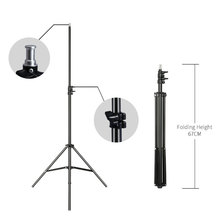 Профессиональный студийный Регулируемый софтбокс для вспышки непрерысветильник штатив 2 м/6,5 футов