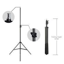 2m/6.5ft Professional Studio Adjustable Soft Box Flash Continuous Light Stand Tripod