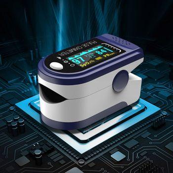 Palca pulsoksymetr dom rodzinny impulsu oxymetr pulsoksymetr napalcowy OLED tanie i dobre opinie OOTDTY CN (pochodzenie)