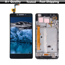 Free Shipping 5.0'' Lcd For Lenovo A6010 1280x720 Digitizer Touch Screen Lcd Display Assembly Replacement Parts For Lenovo A6010 high quality replacement lcd display touch digitizer screen assembly complete for lenovo p780 free shipping