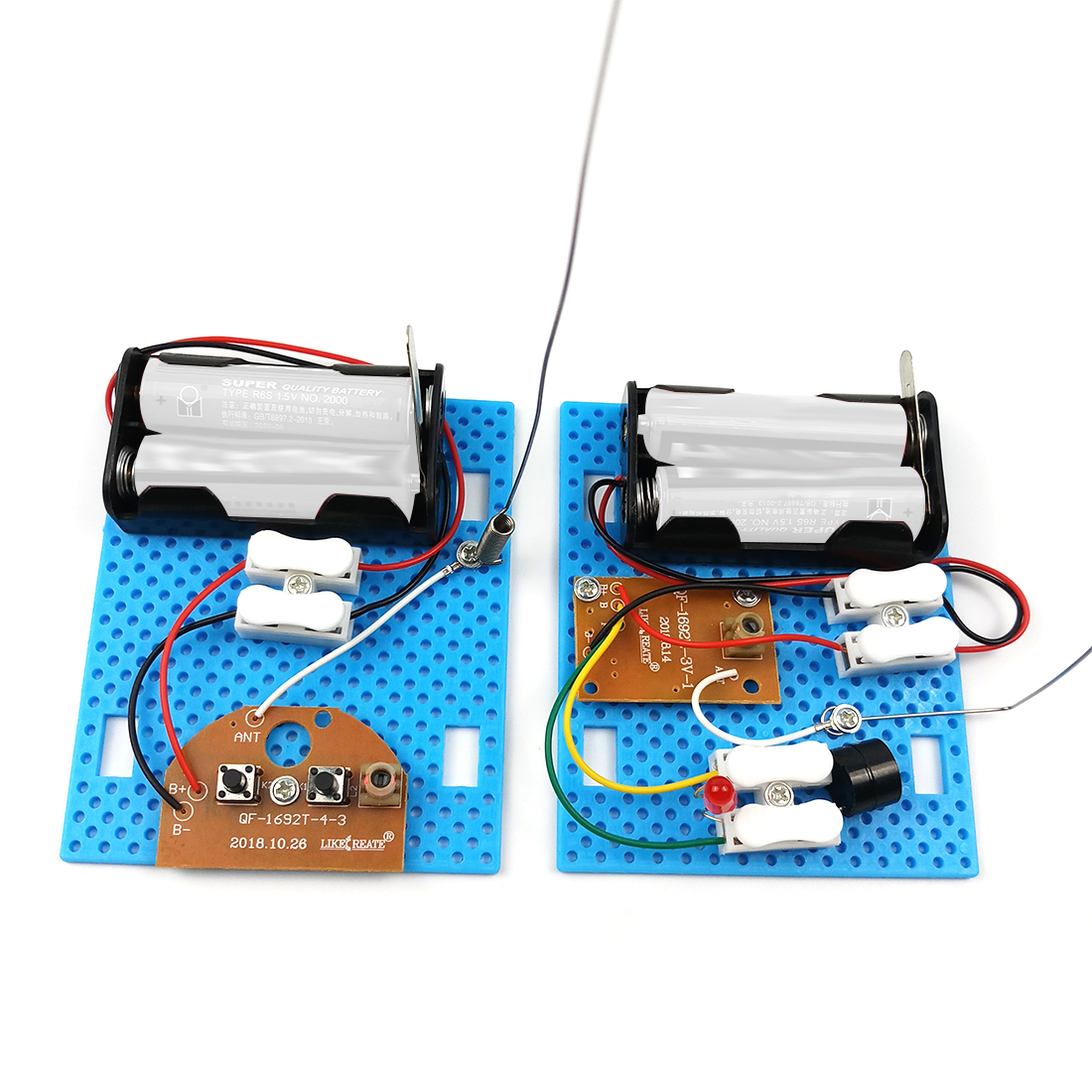 Diy Telegraph Machine Model Kit Experiment Toys Creative Physics Handmade Scientific Assembly Toy For Kids