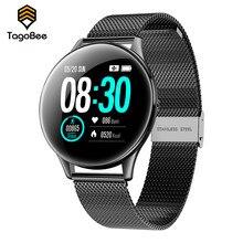 TagoBee SN58 inteligentny zegarek IP68 wodoodporny Monitor pracy serca inteligentne śledzenie aktywności mężczyźni kobiety inteligentna bransoletka Android iOS