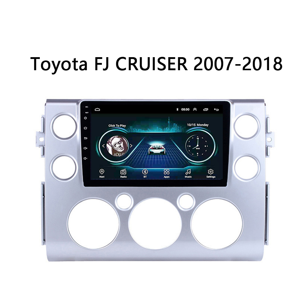 Car DVD Player For 2007 2008 2009-2018 Toyota FJ CRUISER Multimedia system GPS <font><b>AutoRadio</b></font> Head unit Android 8.1 9