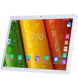 Image 2 - BDF Neue Android 4,4 tabletten pc telefon sim karte 10 Zoll 1GB + 16GB IPS LCD Quad Core 5000Mah Batterie Wifi Bluetooth Schönes Design tab