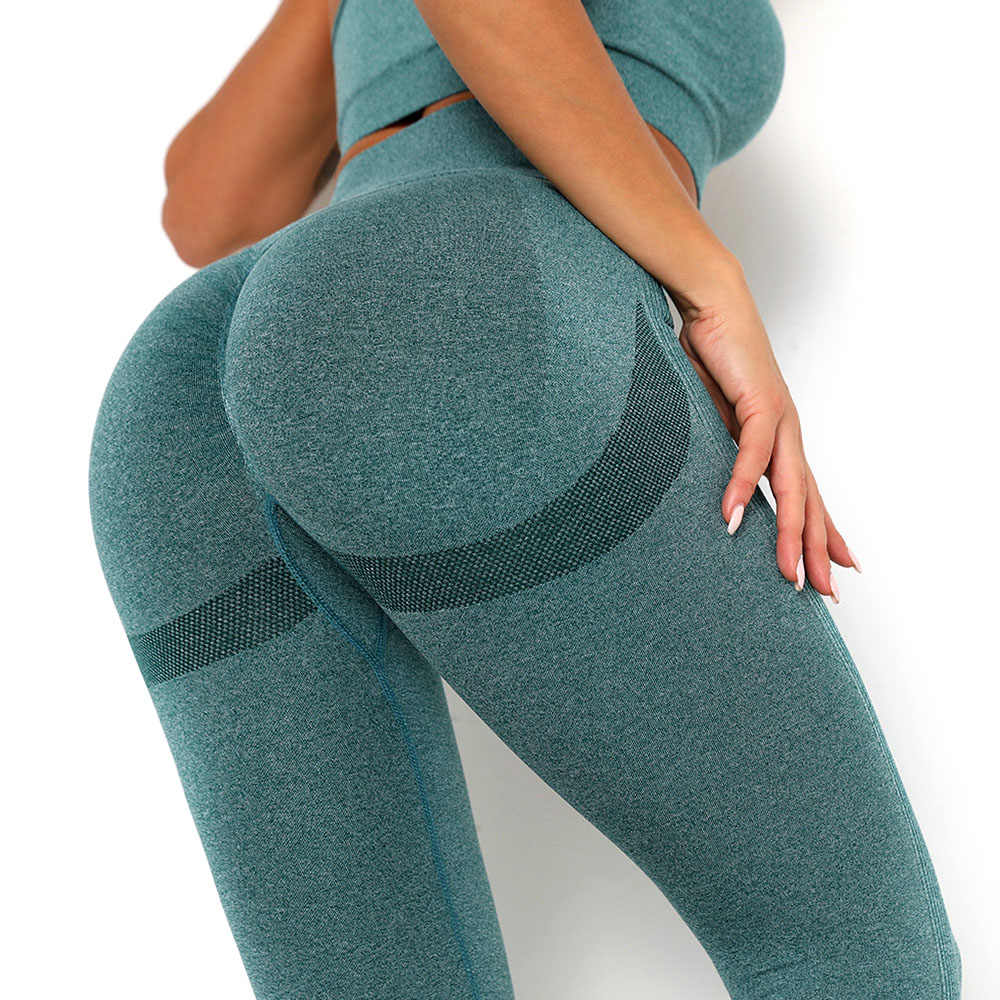 Nahtlose Yoga Hosen Scrunch Butt Leggings Für Frauen Sport Fitness Yoga Legging Hohe Taille Squat Proof Sports Workout Leggins