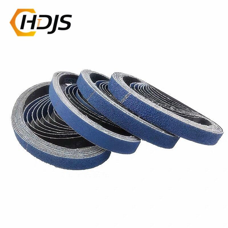Zirconium Corundum Pneumatic 520*20 Metal Ring Sander Ring Blue Stainless Steel Polishing Wire-drawing Strip Polishing