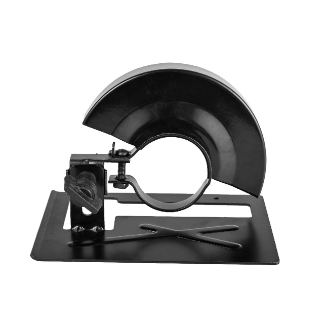Vastar Angle Grinder Bracket Stand Holder Adjustable Metal Cutting Machine Thickened Cutting Base Protection Cover Support