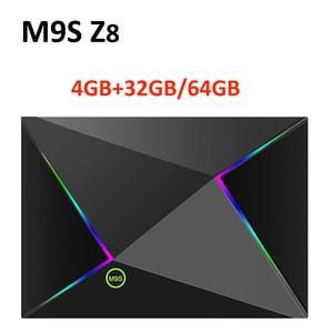 Image 1 - M9S Z8 Smart Tv Box Android9.0 2.4G Wifi Lan 10/100M 6K Hd Set Top Box 4 Gb 32 Gb/64 Gb 3D 2.4G Draadloze Muis Youtube Media Player