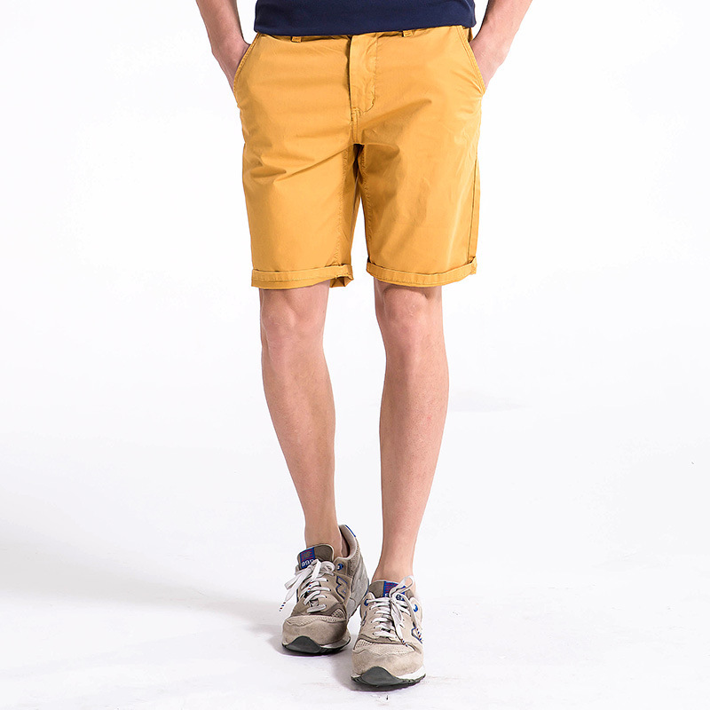 Special Offer! Men Summer Pure Cotton Casual Pants Large Size Fashion Shorts Solid Color Versatile Shorts