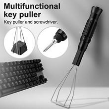 2 in 1 Metal Phillips Screwdriver Mechanical Keyboard Key Keycap Puller Universal Portable Keyboard Key Caps Removal Tool