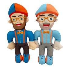 Плюшевая игрушка blippi Аниме 30 см мягкие игрушки кукла образовательный