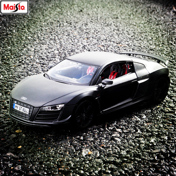 Maisto 1:18 Audi R8 Alloy Retro Car Model Classic Car Model Car Decoration Collection gift image