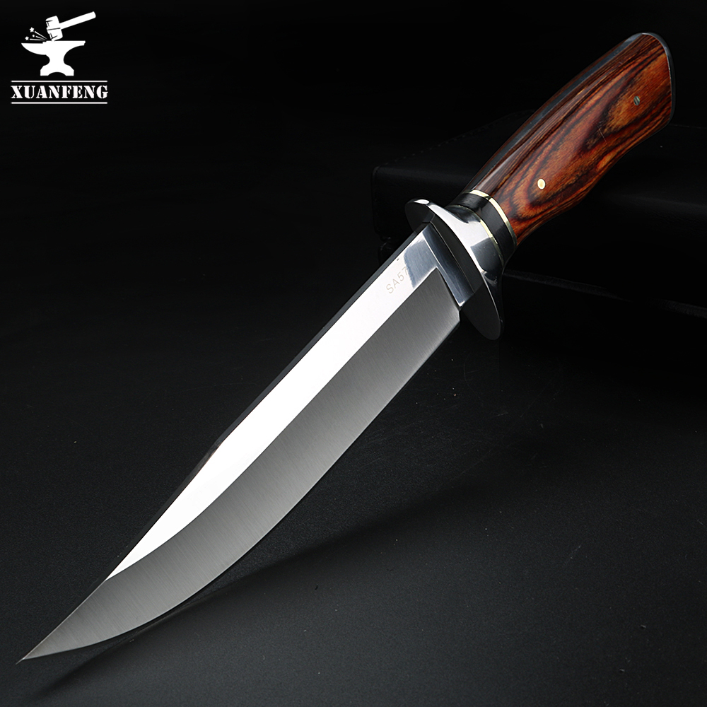 Fixed Blade knife outdoor knife camping multifunctional hunting knife high hardness survival knife straight knife