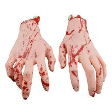 Halloween Bloody Hand Legs Haunted House Horror Props Party Club Scary Decoration Supplies