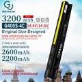 Golooloo 3200mAh แบตเตอรี่แล็ปท็อปใหม่สำหรับ Lenovo G400s G405s L12L4A02 L12L4E01 G410s G500s L12S4A02 L12S4E01 L12M4E01 L12M4A02