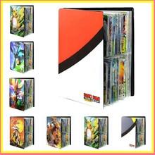 Album de cartes Pokemon, 240 pièces, dessin animé, bricolage, porte-liste chargé, capacité de reliure, dossier, jouets pour enfants