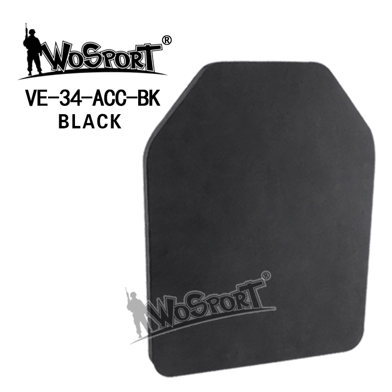2019 Airsoft Outdoor Paintball Military Tactical Vest Back Baffle Protective Pad Shock Resistant Eva Mannequin Ballistic Plate