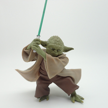 New 13cm Star Wars Yoda Darth Vader Action Figure Toy Master Yoda With Sword Pvc Model Collection Toy For Kids Boy Birthday Gift