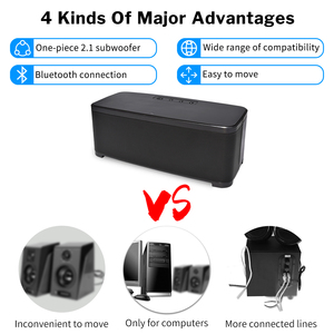Image 5 - Deelife Home Bluetooth Speaker with Bass Adjustment Powerful Loudspeaker Wireless 2.1 Channel Stereo Music Surround Sound Box