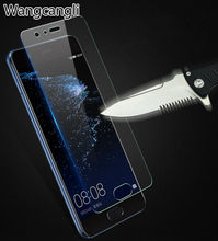 For Huawei P8 P9 P10 P10plus P9 lite 2017 ultra-thin tempered glass for Huawei p8 lite 2015 anti-fingerprint screen protector велосипед tern verge p9 2015