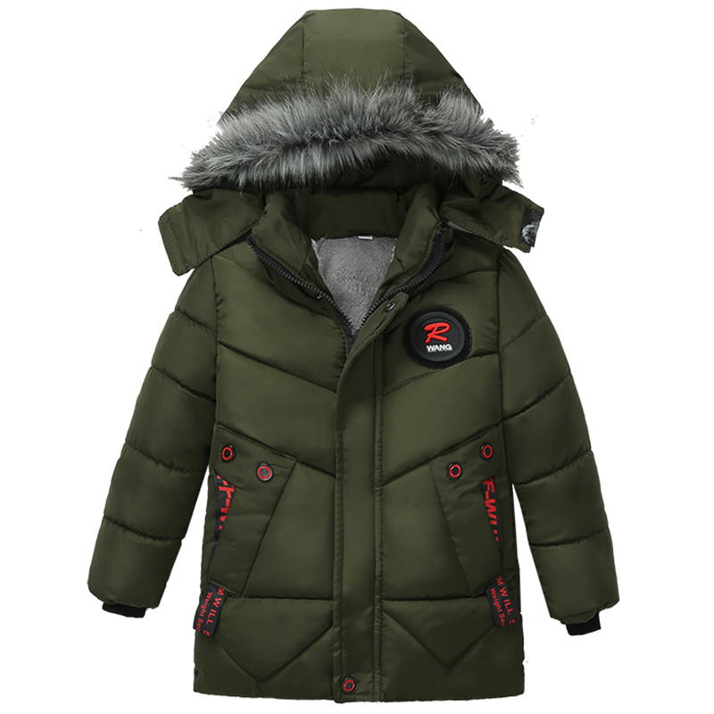 Suncolor8 Men Thickened Loose Winter Zipper Hoodie Down Quilted Coat Jacket Outerwear