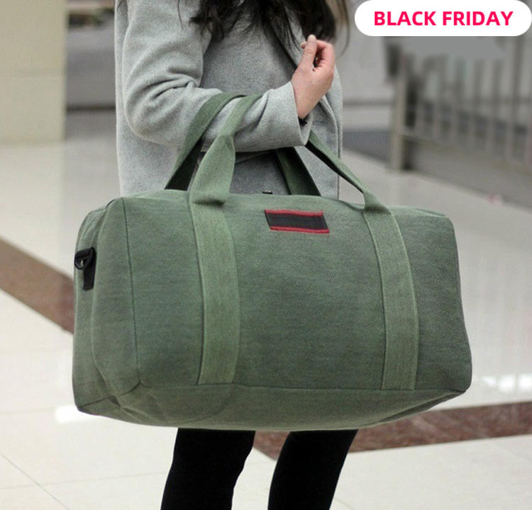 Fashion Products Working Women Luggage Travel Bag Wearable Canvas Handbag Large Capacity Clothes Weekend Bag More Colors