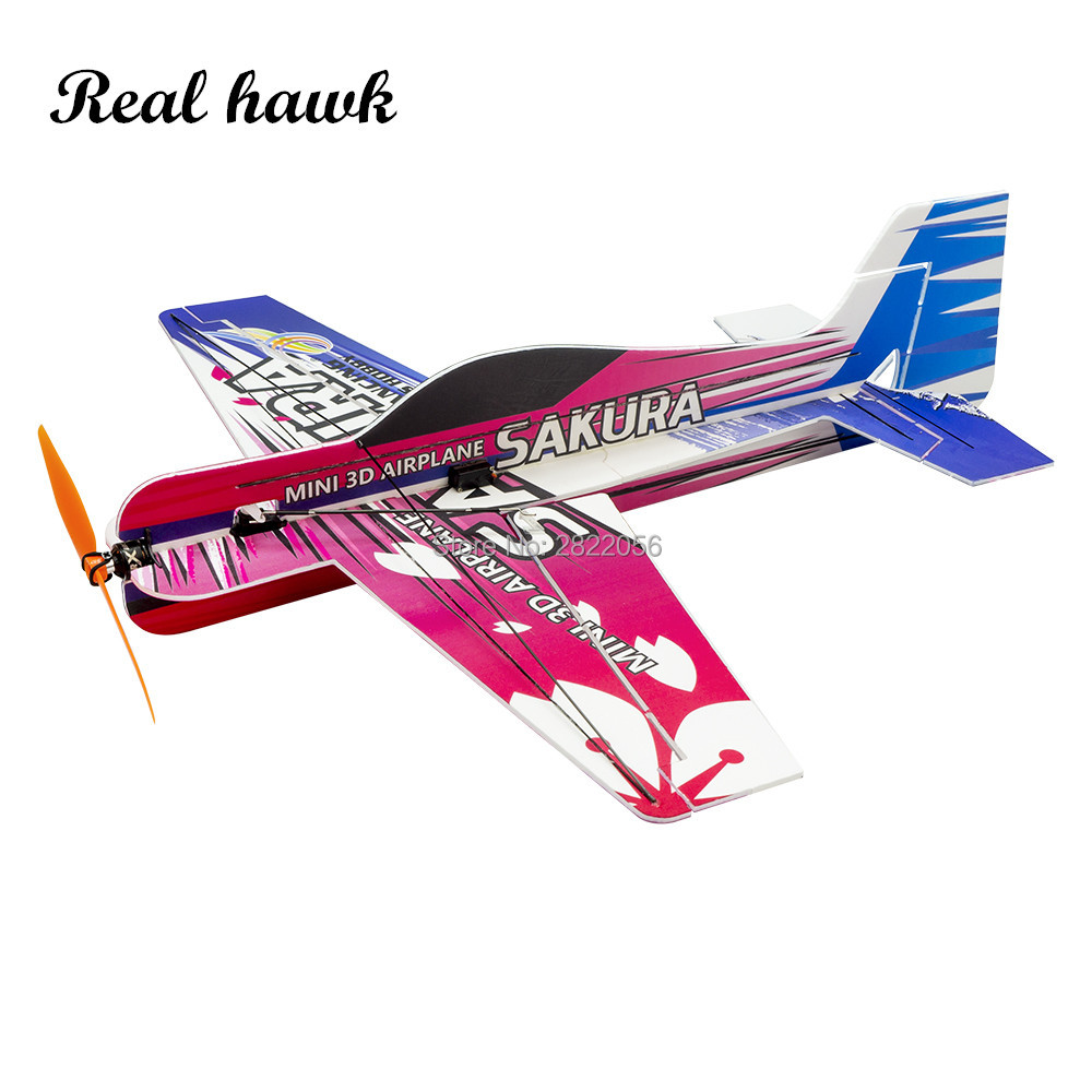 2019 New PP Magic Board Foam Micro 3D Airplane SAKURA Lightest plane KIT RC airplane RC MODEL HOBBY TOY HOT SELL RC PLANE image