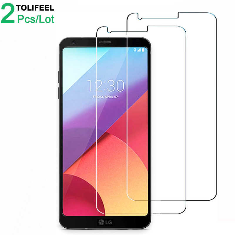 2Pcs Tempered Glass For LG G6 Screen Protector 9H 2.5D Phone On Protective Glass For LG G6 Glass
