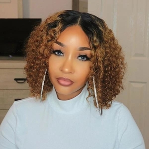 Beeos Deep Part Ear to Ear 13x6 Lace Frontal Closure 8-20inch Brazilian Remy Human Hair Frontal Pre Plucked Bleached Knots(China)