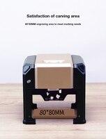 3000mW laser engraving machine wood working engraving machine DIY engraving machine computer plotter 80*80mm engravin grange