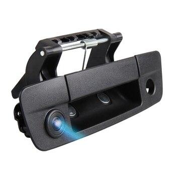 for Dod ge Ram 2009-2012 Car Rover Tailgate Handle Backup Camera Reverse Reversing Rear View Camera