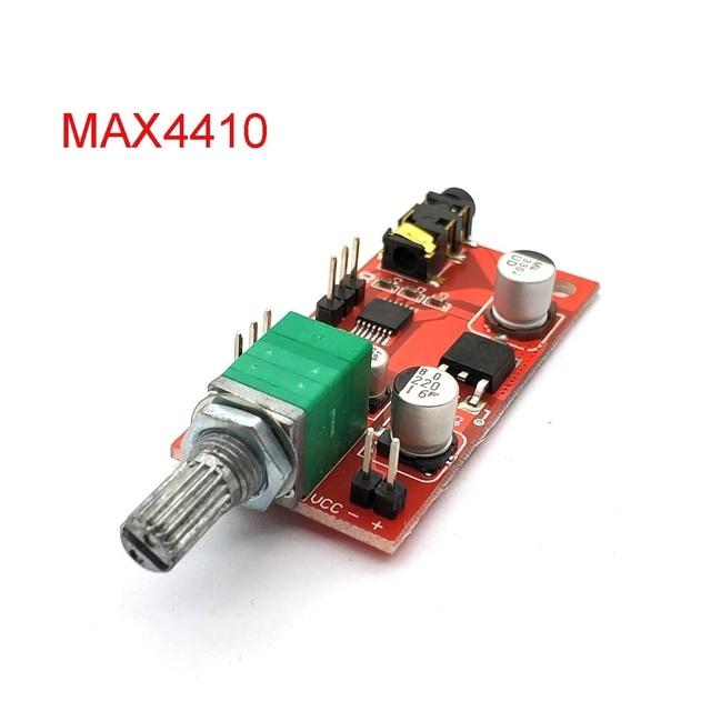 MAX4410 wzmacniacz słuchawkowy wzmacniacz słuchawkowy Mini wzmacniacz do przedwzmacniacza pojedyncza bateria