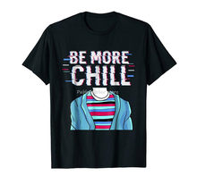 men cotton tshirt new man bigger size teeshirt Be More Chill Relax Chilling Black T-Shirt S-3Xl Oversized Tee Shirt(China)