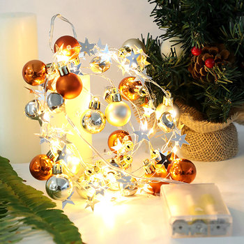 Christmas Holiday LED Lights Merry Christmas Decorations for Home Christmas Tree Decorations Xmas Navidad Gifts New Year 2021 недорого