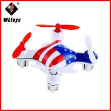 WLtoys V676 RC طائرات بدون طيار 2.4G 4CH 6-محور الدوران Drone Dron 3D غير محدود انقلاب للخارج RTF أجهزة الاستقبال عن بعد تحلق ألعاب هليكوبتر نانو المروحية