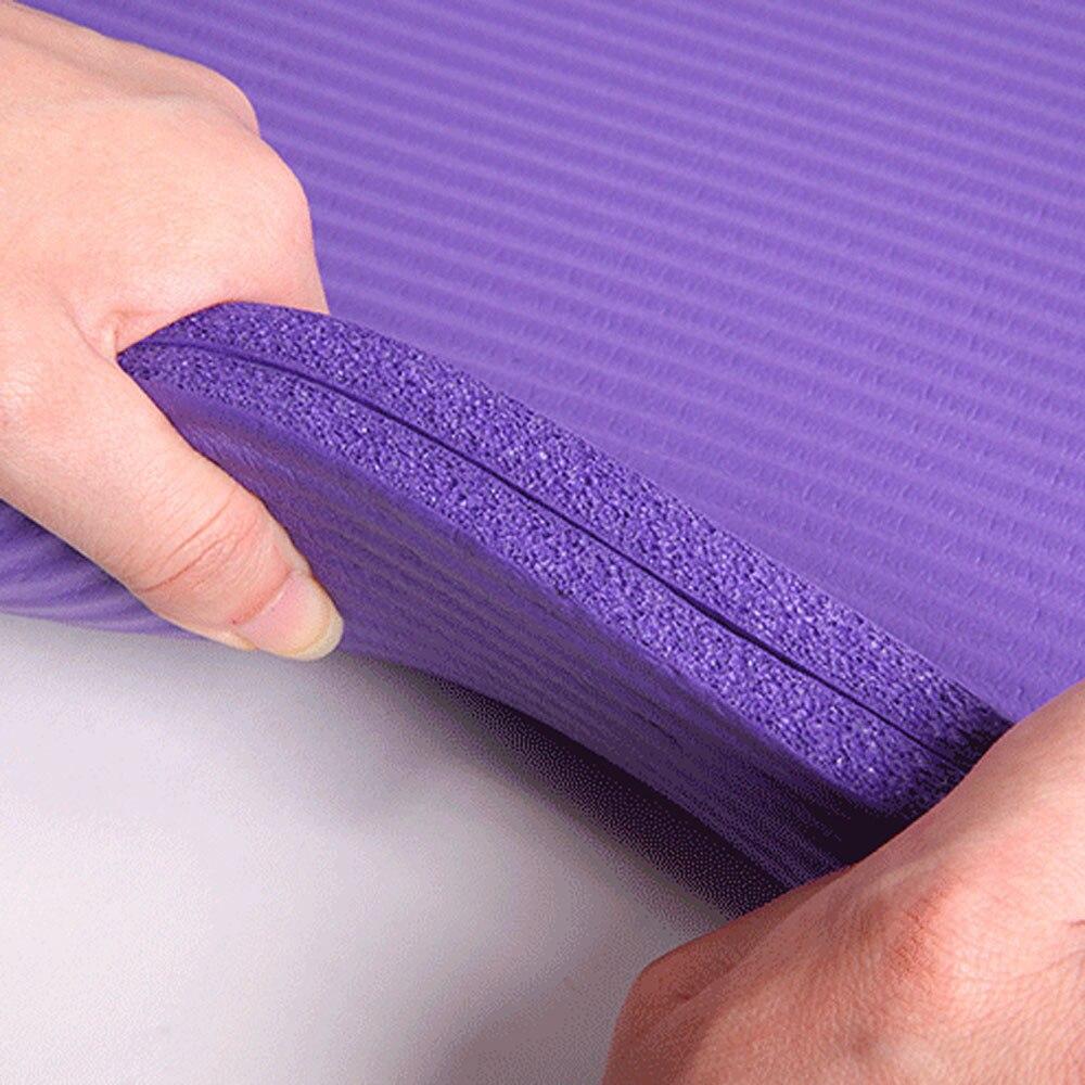 1567440348181_183 x 61 x 1cm NBR Multifunction Yoga Mat 10mm Anti-skid Yoga Mat Nonslip (23)