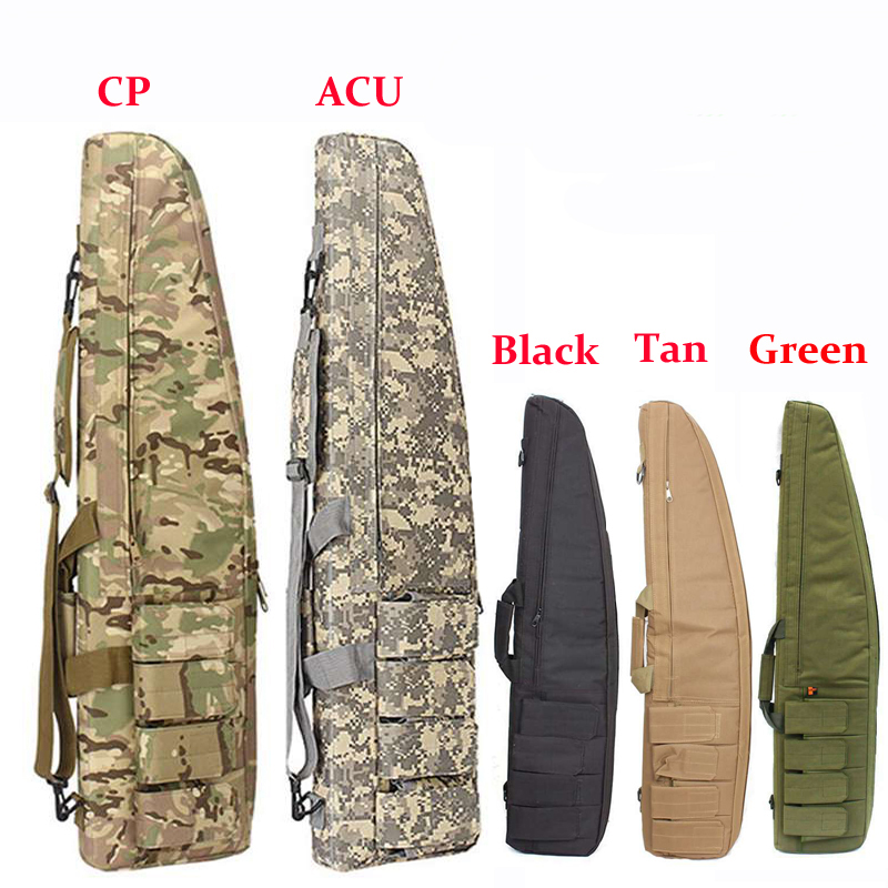 Tactical 70cm/98cm/118cm Heavy Gun Carry Bag Army Airsoft Rifle Gun Case Shoulder Pouch Outdoor Military Shooting Hunting Bags