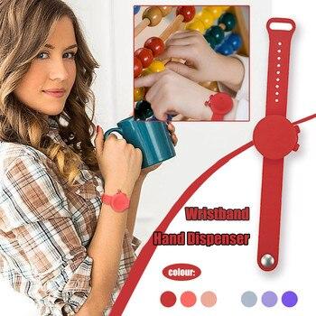 Liquid Wristband Hand Dispenser Handwash Gel With Whole Sanitizing Adult Kid Disinfection Bracelet H